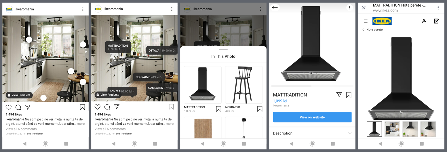 Instagram Shop Ikea